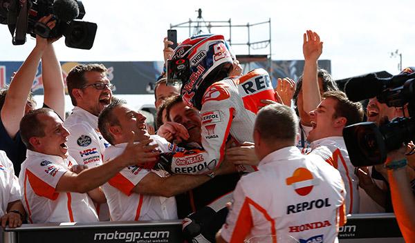 Carrera MotoGP GP Jerez 2014