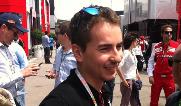 Lorenzo GP de España F1 2014