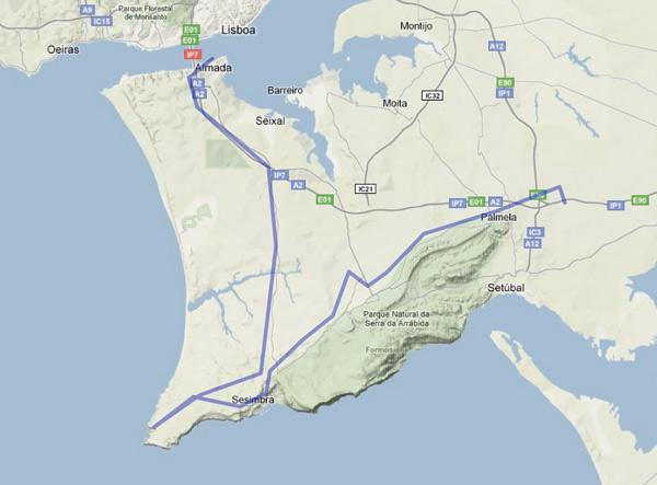 Visita Lisboa etapa 1