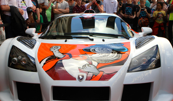 gumpert apollo tatuado gumball 3000 2014