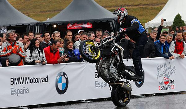 BMW Motorrad Days 2014 stunt