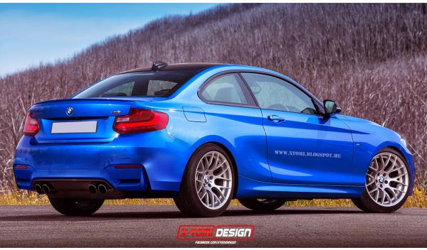 BMW M2 trasera