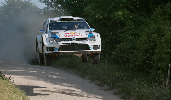 Ogier Rally Polonia 2014 WRC