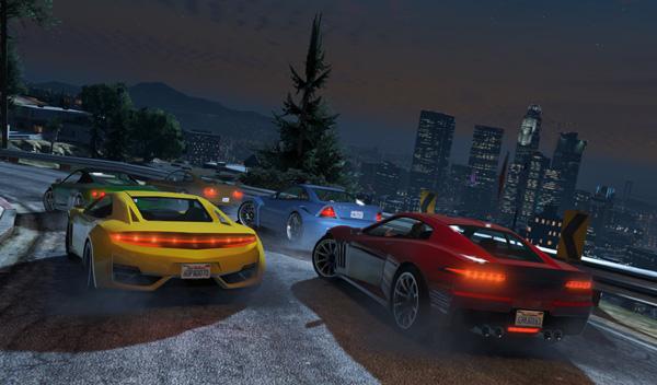 GTA V carreras actividades online