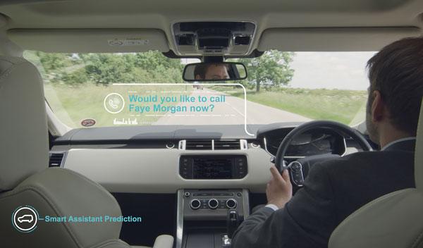 smart assistant jaguar land rover