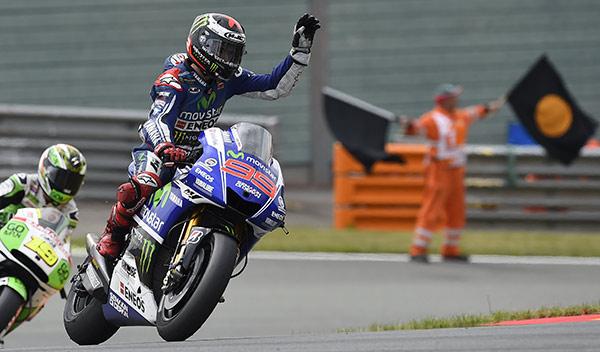 Lorenzo carrera MotoGP Alemania 2014