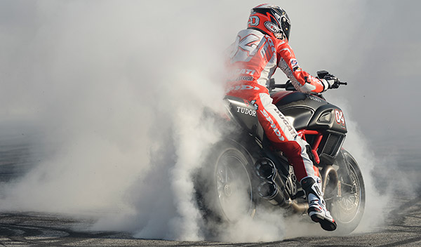 World Ducati Week 2014 Drag Race