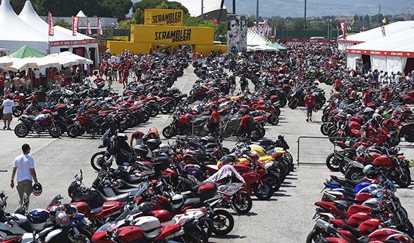 World Ducati week 2014 motos