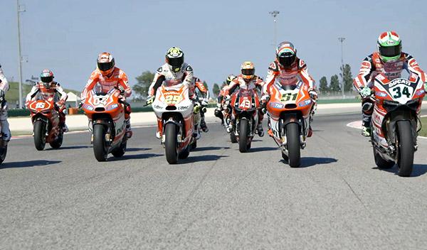 World Ducati week 2014 pilotos