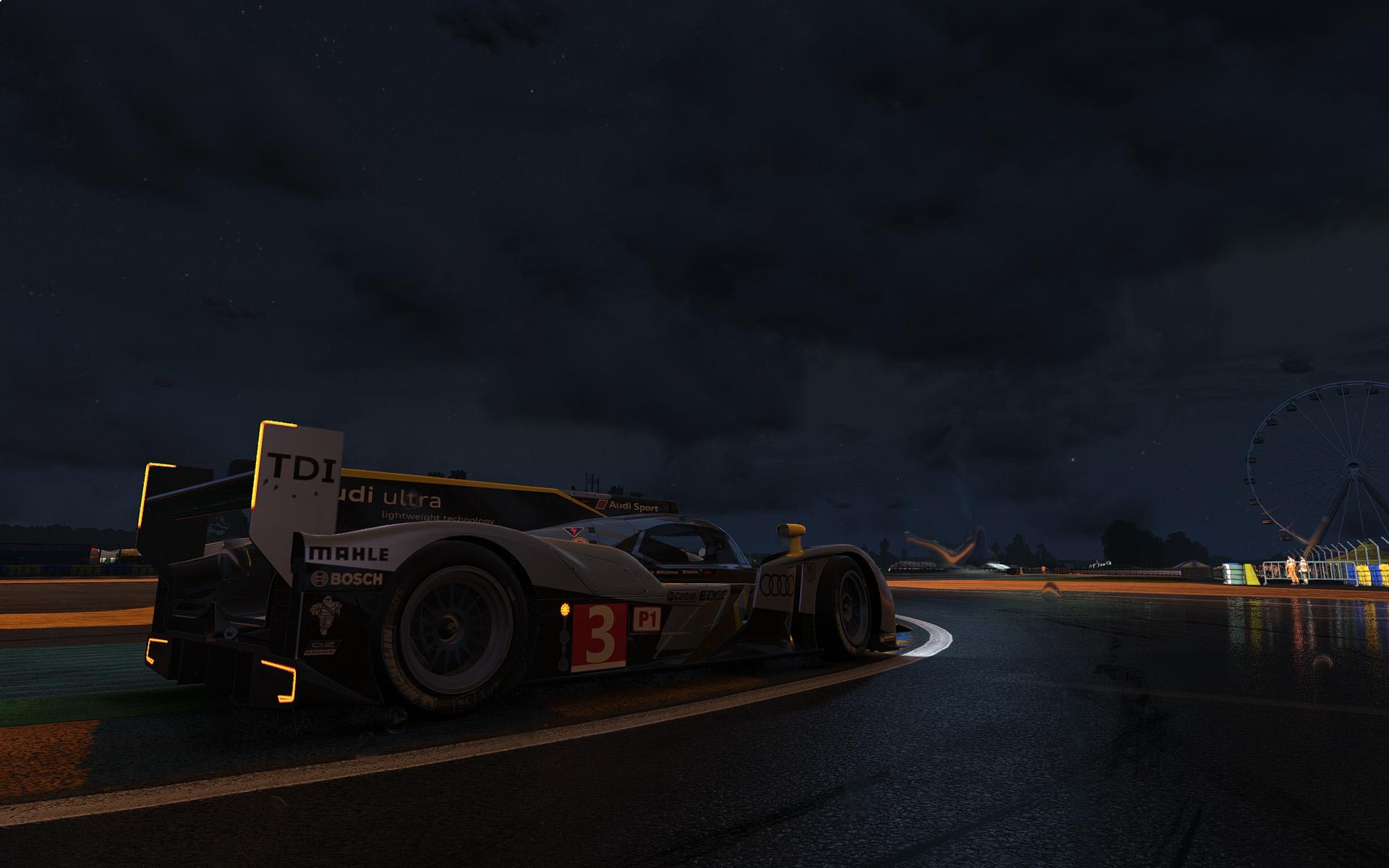 Las 24 Horas de Le Mans, en Project CARS.