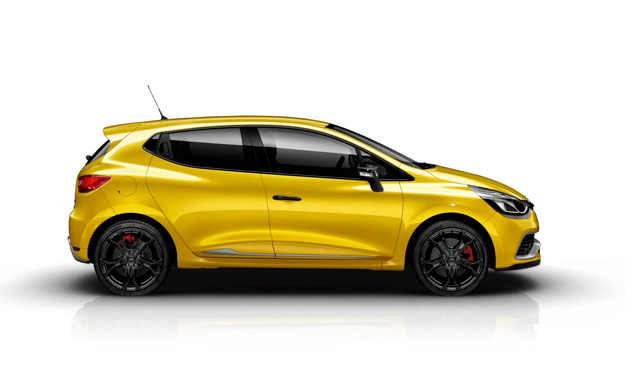 renault clio rs 200 lateral