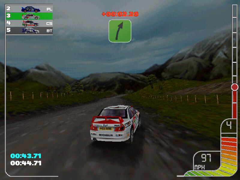 Juegos de rallies: Colin McRae Rally
