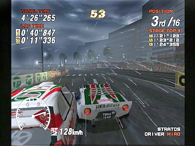 Juegos de rallies: Sega Rally 2