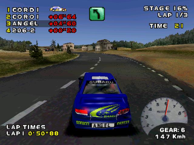 Juegos de rallies: V-Rally 2 Expert Edition