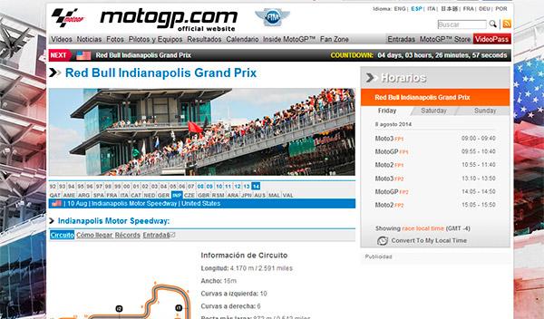 web motogp.com