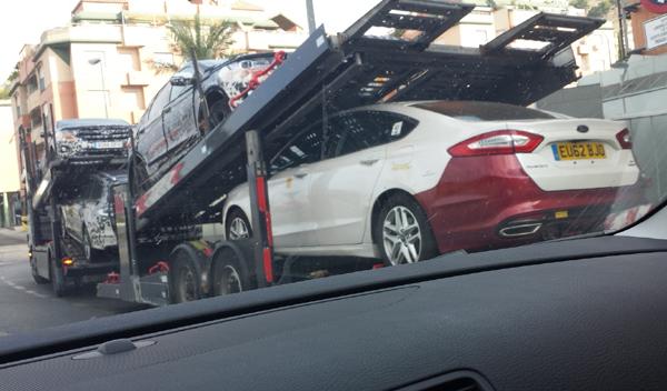 Foto espía nuevo Ford Mondeo