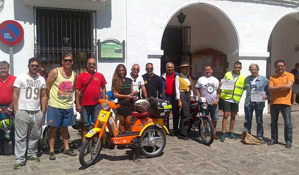 II Vuelta a España en Vespino