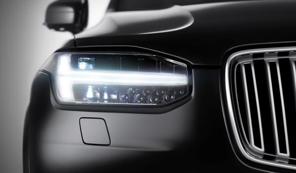 Volvo XC90 faro