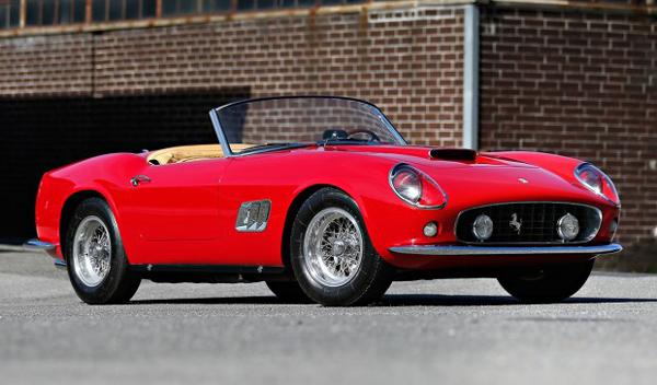 Ferrari 250GT California SWB Spider de 1961