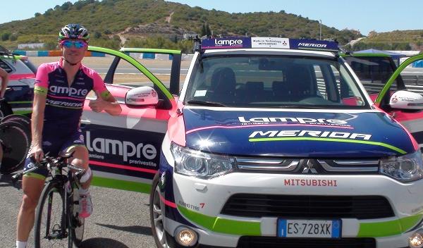 Mitsubishi Outlander del equipo Lampre