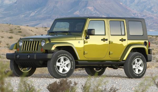 Jeep Wrangler 2WD