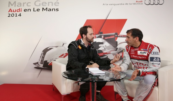 Entrevista Gené Auto Bild Le Mans 2014