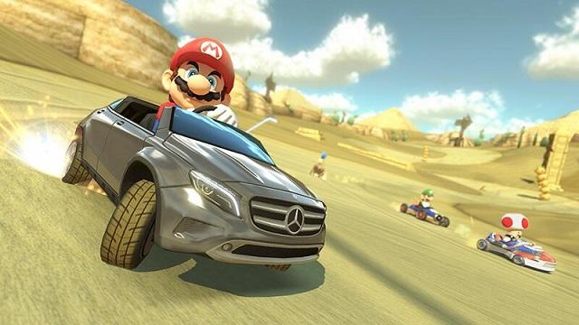 Los mejores juegos de coches de 2014: Mario Kart 8