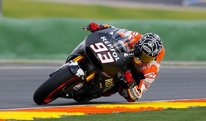 Marc m rquez el m s r pido en el test de motogp valencia motos - Patinete electrico marc marquez ...