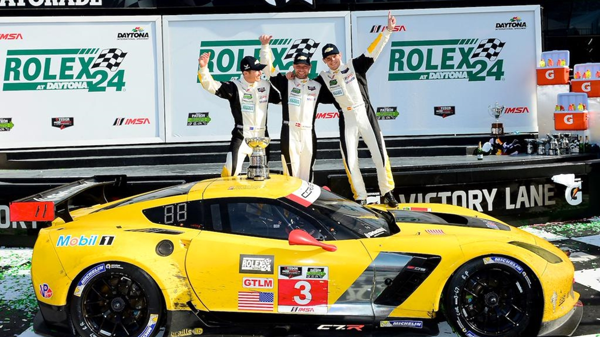24 Horas de Daytona: Antonio García gana en su categoría