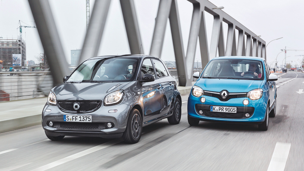 renault twingo smart forfour