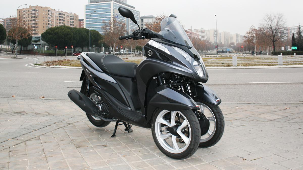 yamaha tricity 125cc y tres ruedas para todos los p blicos motos. Black Bedroom Furniture Sets. Home Design Ideas