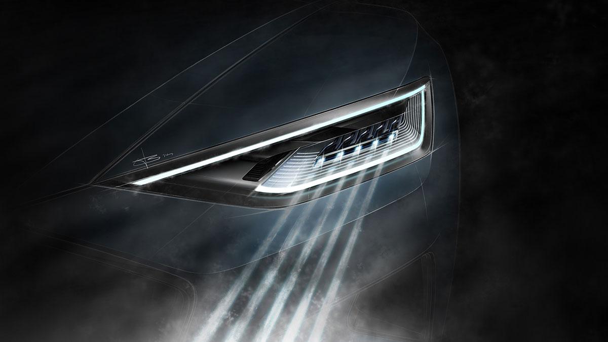 Nuevos faros láser para el Audi R8