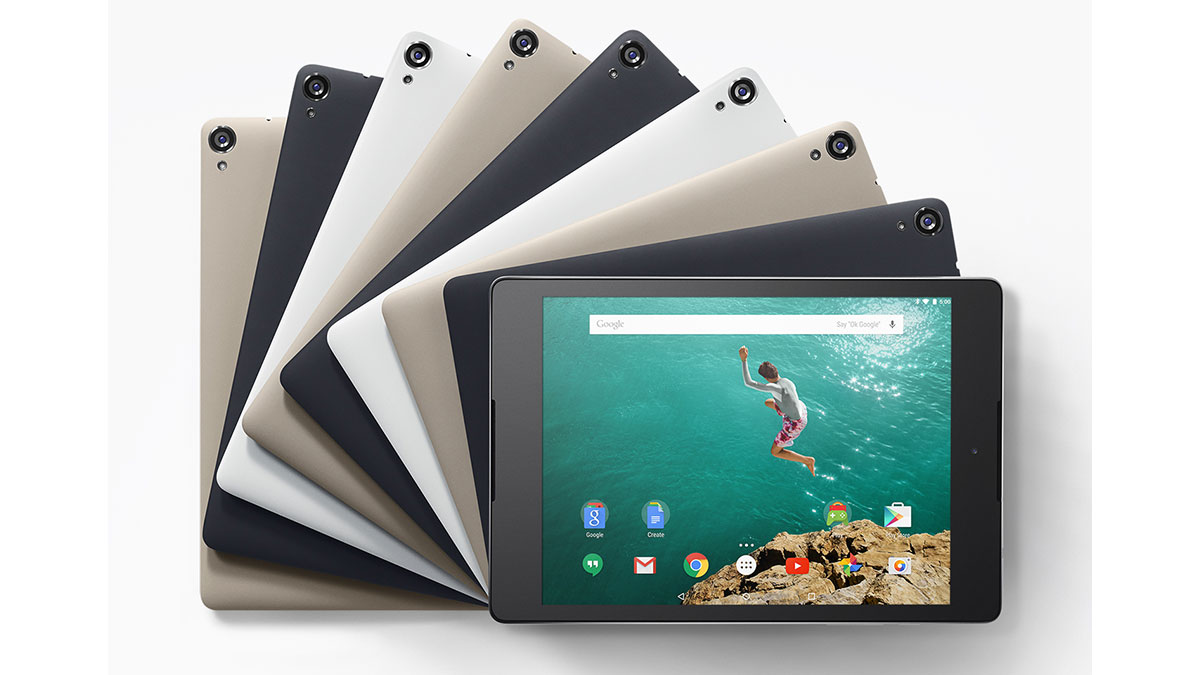 Tableta Nexus 9 de Google