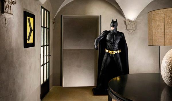 Garibaldi Blu habitación de Batman