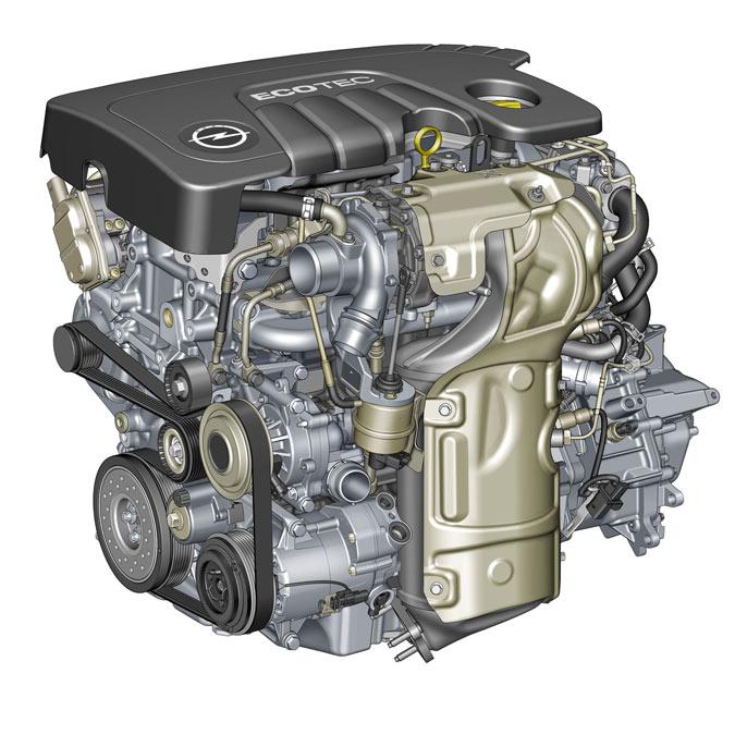 motor 1.6 cdti opel
