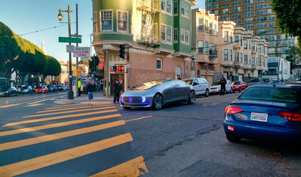 Mercedes Benz F015 San Francisco 1