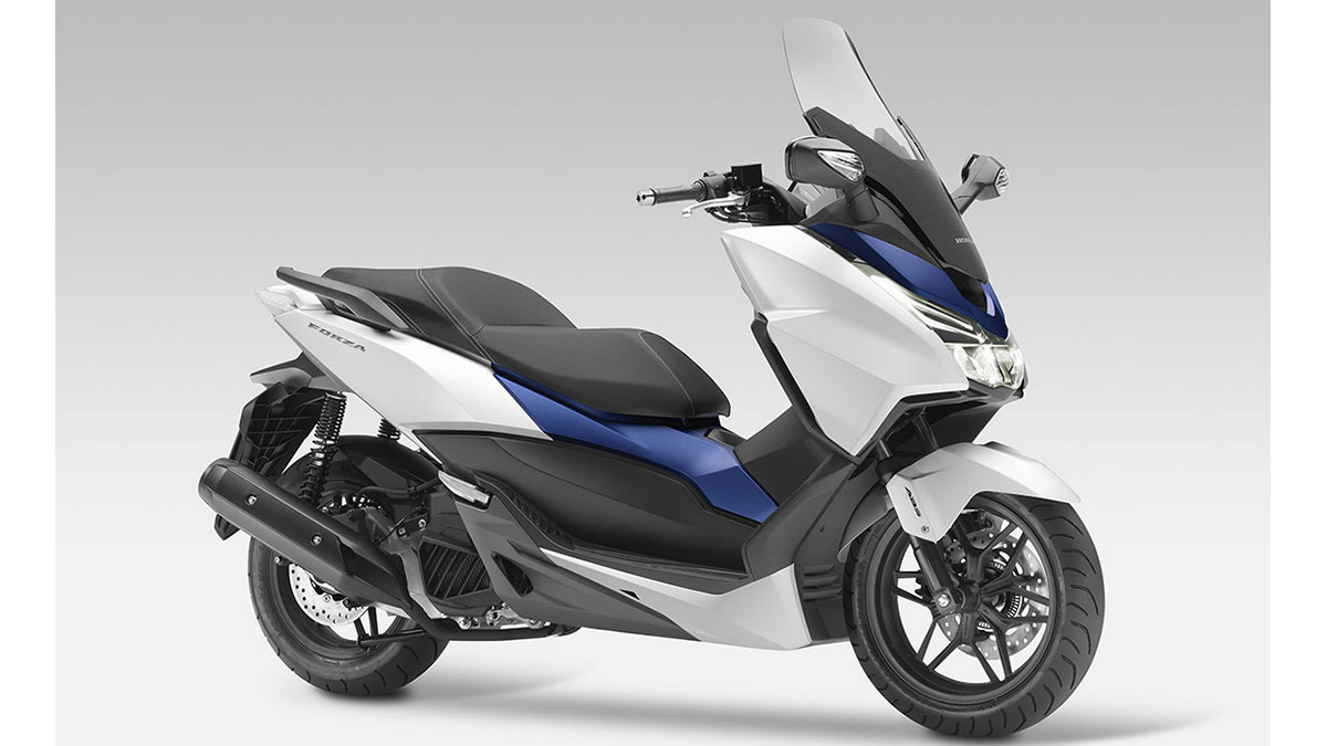 Honda Forza 125, se presenta en Niza