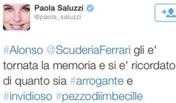 Paola Saluzzi Fernando Alonso