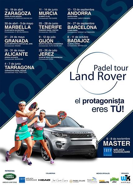 Carteldel Land Rover Pádel Tour 2015