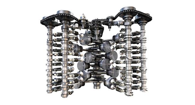 Motor VW TSI W12 de 6,0 litros