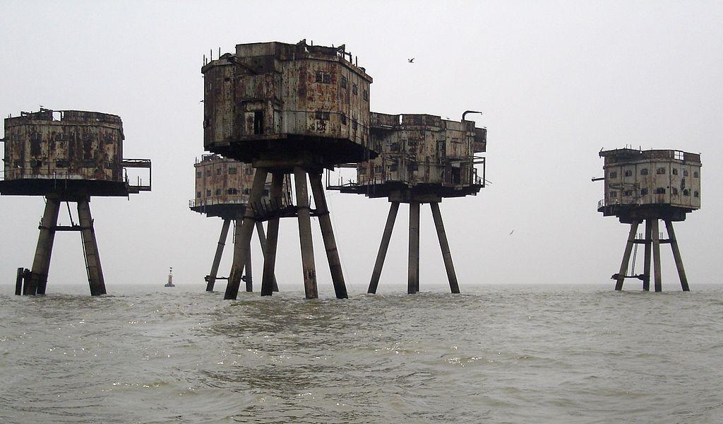 Fortaleza marinas Maunsell
