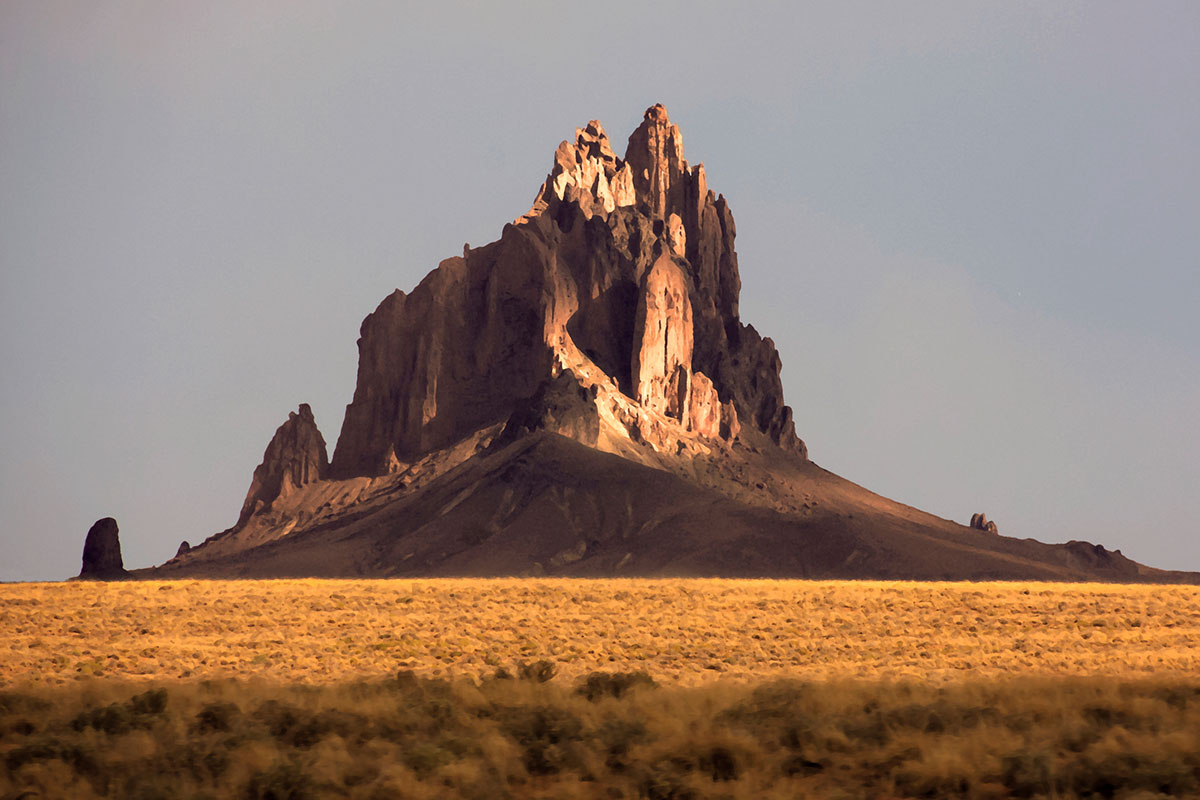 Shiprock en Nuevo México