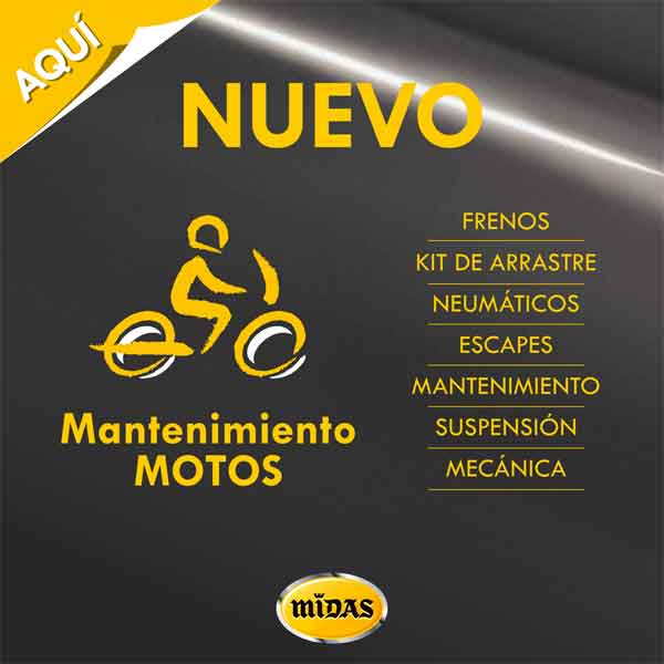 cartel motos midas