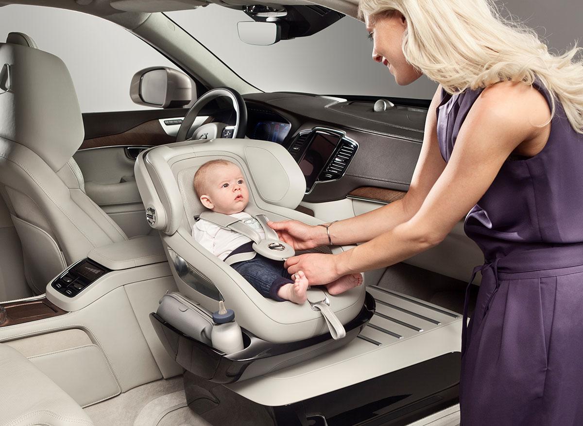 Silla infantil Volvo del futuro