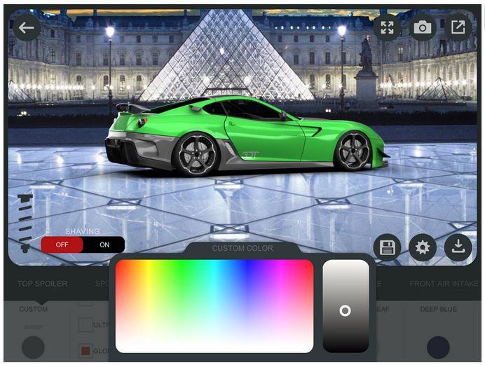 Custom Paint Your Car Online Program