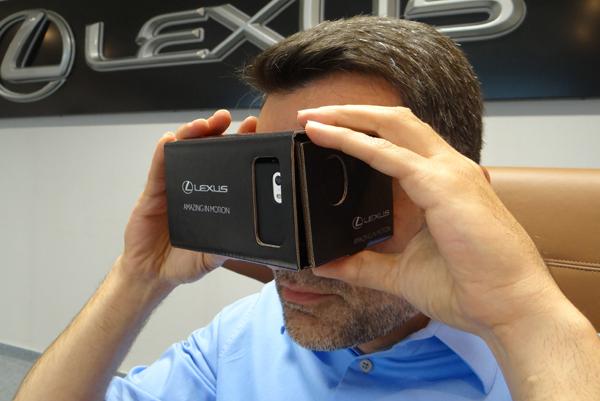 lexus rc f realidad virtual