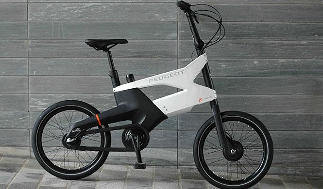 bicicleta híbrida HYbrid Bike AE21 de Peugeot