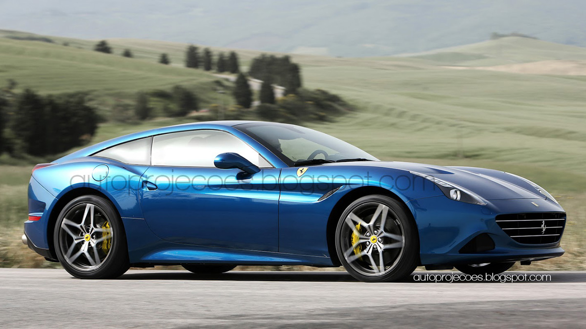 Un Ferrari California T con carrocería fastback? -- Autobild.es