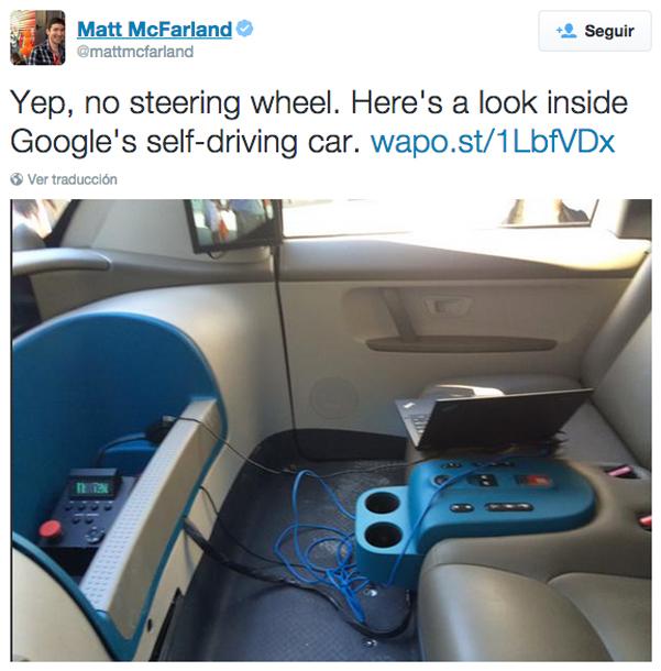 interior coche google