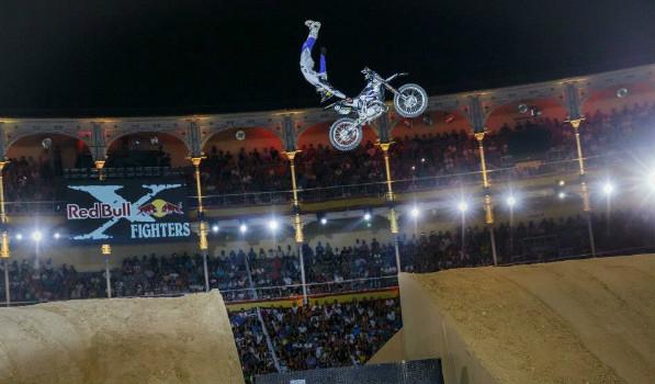 Saltos prodigiosos como este tomaron la plaza de toros de Las Ventas